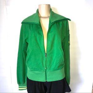 LuluLemon Green Warmup Jacket